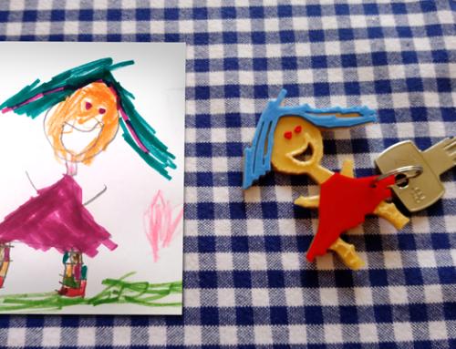 Od dečijeg crteža do 3D priveska II