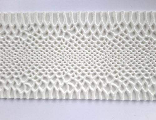 3D štampa pečata za kožu – reptil tekstura